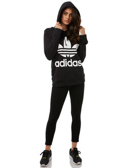 BLACK WOMENS CLOTHING ADIDAS JUMPERS - CE2408BLK