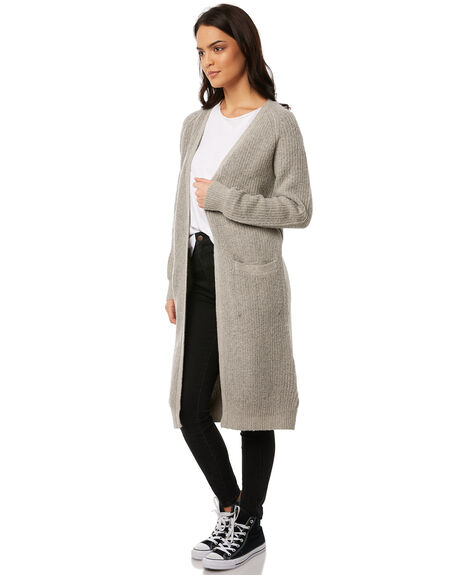 GREY WOMENS CLOTHING ALL ABOUT EVE KNITS + CARDIGANS - 6491003GRY