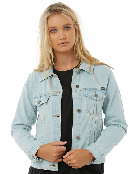 BLEACH BUM WOMENS CLOTHING RVCA JACKETS - R283434BBUM