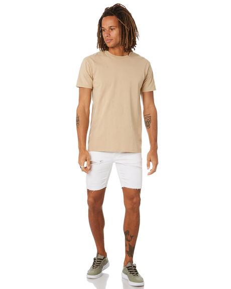 WHITE MENS CLOTHING NENA AND PASADENA SHORTS - NPMRAWS002WHTE