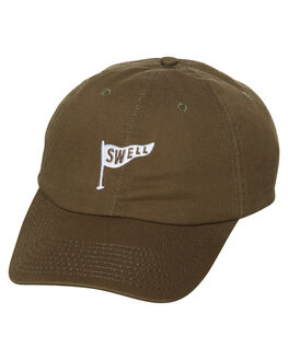 GREEN MENS ACCESSORIES SWELL HEADWEAR - S51741615GRN