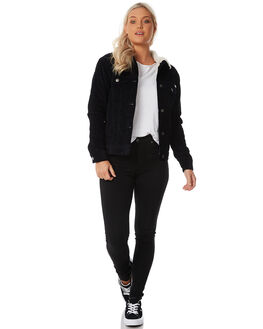 MIDNIGHT WOMENS CLOTHING RVCA JACKETS - R283432MID