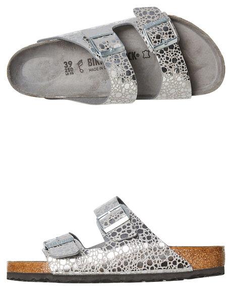 SILVER GREY WOMENS FOOTWEAR BIRKENSTOCK FASHION SANDALS - 1011912SGRY