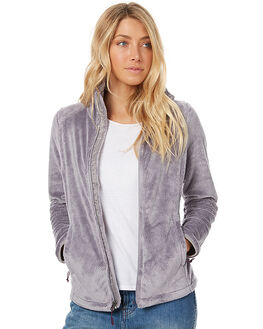 METALLIC SILVER WINE WOMENS CLOTHING THE NORTH FACE JACKETS - NF00C782REE