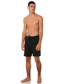 DIRTY BLACK MENS CLOTHING BANKS BOARDSHORTS - BS0163DBLK