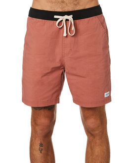 DARK ORANGE MENS CLOTHING BANKS BOARDSHORTS - BSE0225DKO