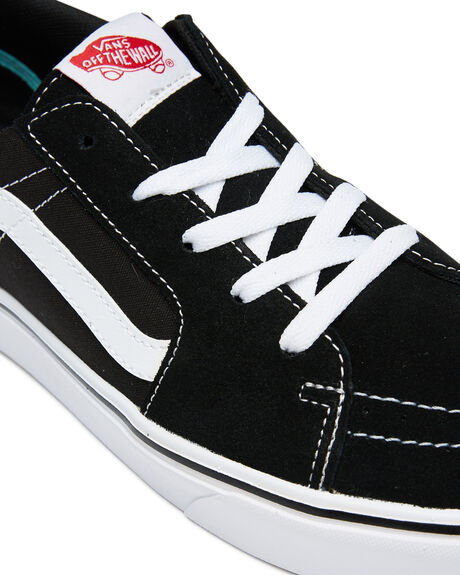 BLACK WOMENS FOOTWEAR VANS SNEAKERS - SSVN0A4UVCVNEBLKW