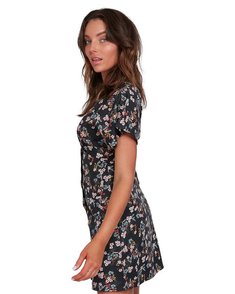 OFF BLACK WOMENS CLOTHING ELEMENT DRESSES - EL-202864-OFB