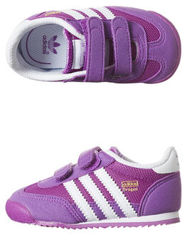 SHOCK PURPLE KIDS GIRLS ADIDAS FOOTWEAR - S79877PUR