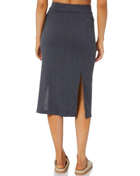 GRAVITY GREY WOMENS CLOTHING RUSTY SKIRTS - SKL0513GGY