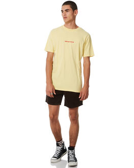 YELLOW MENS CLOTHING INSIGHT TEES - 5000002553LEMON