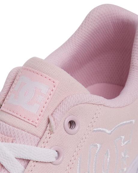 PINK WOMENS FOOTWEAR DC SHOES SNEAKERS - 303226-PNK