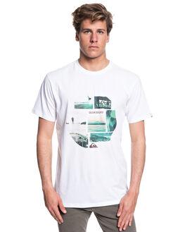 WHITE MENS CLOTHING QUIKSILVER TEES - EQYZT05114WBB0