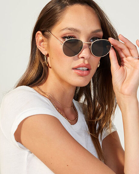 GOLD WOMENS ACCESSORIES MINKPINK SUNGLASSES - MNP1608044GLD