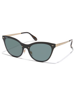 BRUSHED GOLD WOMENS ACCESSORIES RAY-BAN SUNGLASSES - 0RB3580NBRGLD