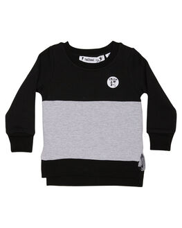 BLACK KIDS TODDLER BOYS RADICOOL DUDE JUMPERS - RT0206BLK