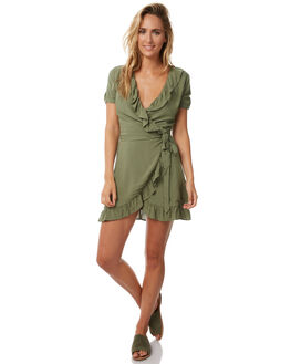 GREEN WOMENS CLOTHING TEE INK DRESSES - CAST43AGRN