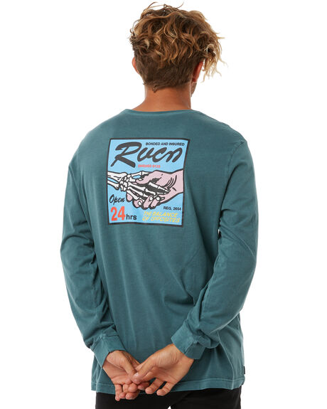 FOREST MENS CLOTHING RVCA TEES - R183096AFRST