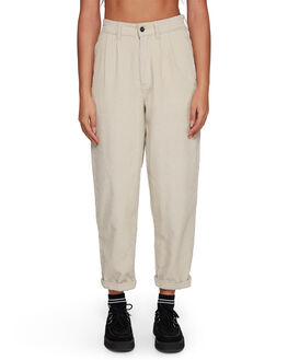 OATMEAL WOMENS CLOTHING RVCA PANTS - RV-R207271-O10