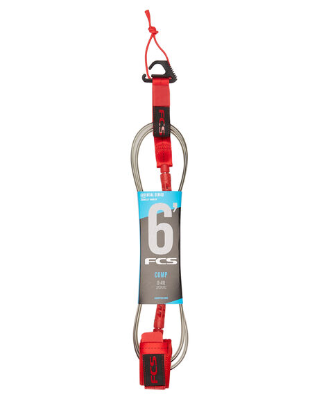 RED BOARDSPORTS SURF FCS LEASHES - 2019-RED-06FRED