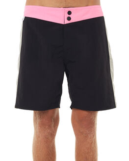 BLACK PINK MENS CLOTHING CATCH SURF BOARDSHORTS - A7BRD014BKPNK