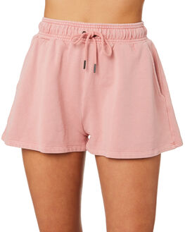PINK WOMENS CLOTHING HUFFER SHORTS - WST93S5402PINK