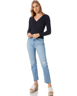 BLACK WOMENS CLOTHING ROLLAS KNITS + CARDIGANS - 13368100