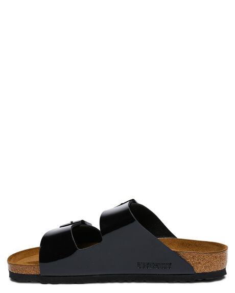 BLACK WOMENS FOOTWEAR BIRKENSTOCK SLIDES - 1005291BLK