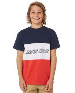 BIG RED KIDS BOYS SANTA CRUZ TOPS - SC-YTD9269BGRD