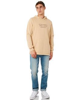DUSTY PEACH MENS CLOTHING RHYTHM JUMPERS - OCT18M-FL02-PEA