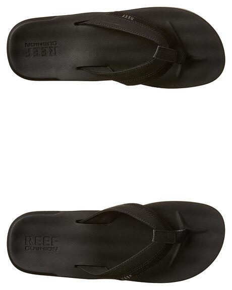 BLACK MENS FOOTWEAR REEF THONGS - A2YFXBLA