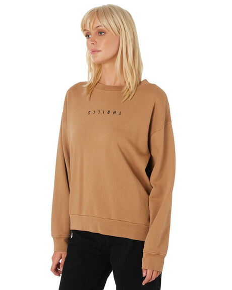 BRONZE WOMENS CLOTHING THRILLS JUMPERS - WTH9-207CBRNZ