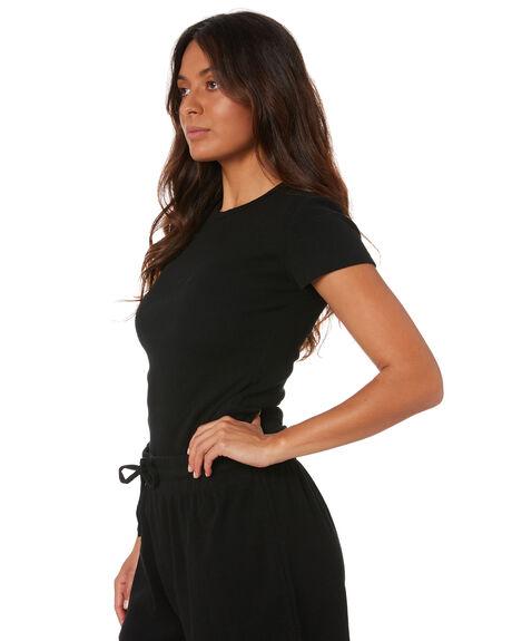 BLACK WOMENS CLOTHING SWELL TEES - S8212004BLACK