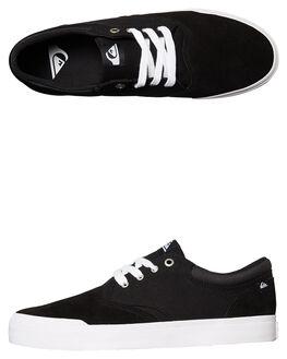 BLACK BLACK WHITE MENS FOOTWEAR QUIKSILVER SNEAKERS - AQYS300066XKKW