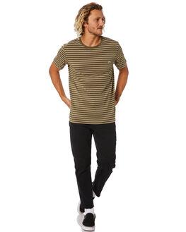 DARK OLIVE MENS CLOTHING RUSTY TEES - TTM2336DAO