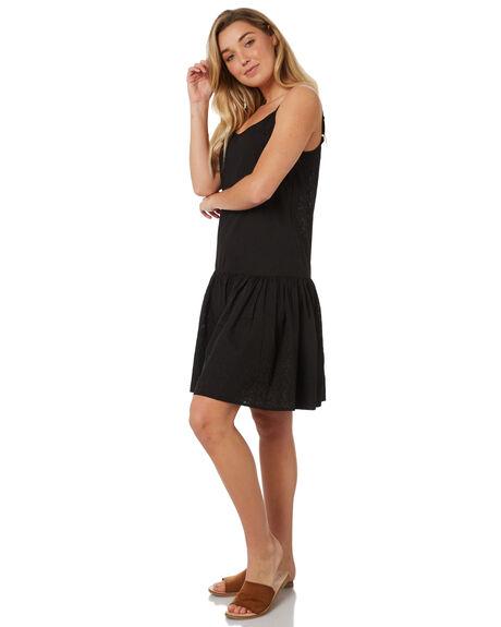 BLACK WOMENS CLOTHING THE HIDDEN WAY DRESSES - H8184443BLACK