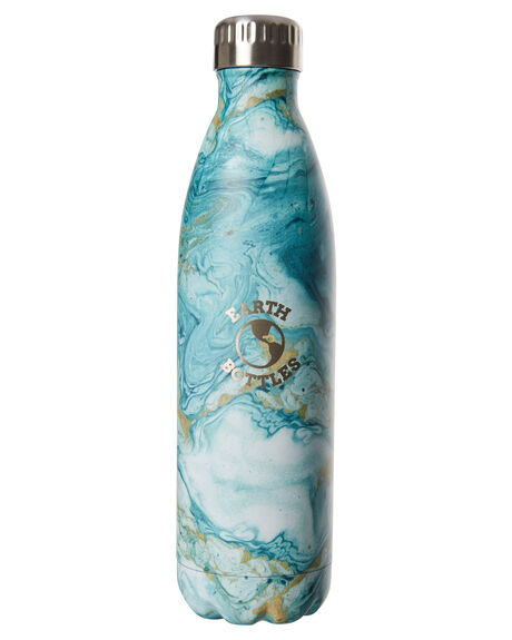 MARBLE GREEN MENS ACCESSORIES EARTH BOTTLES DRINKWARE - EBMG750MAGRN