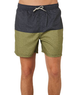 DARK OLIVE MENS CLOTHING RIP CURL BOARDSHORTS - CBORA19389