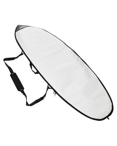 STEEL BLACK WHITE BOARDSPORTS SURF FCS BOARDCOVERS - BCL-AP-BKWSBLKW