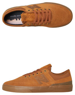 BROWN MENS FOOTWEAR NEW BALANCE SKATE SHOES - NM379BWTBROWN