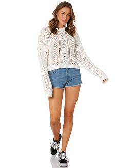 STAR WHITE WOMENS CLOTHING VOLCOM KNITS + CARDIGANS - B0722001SWH