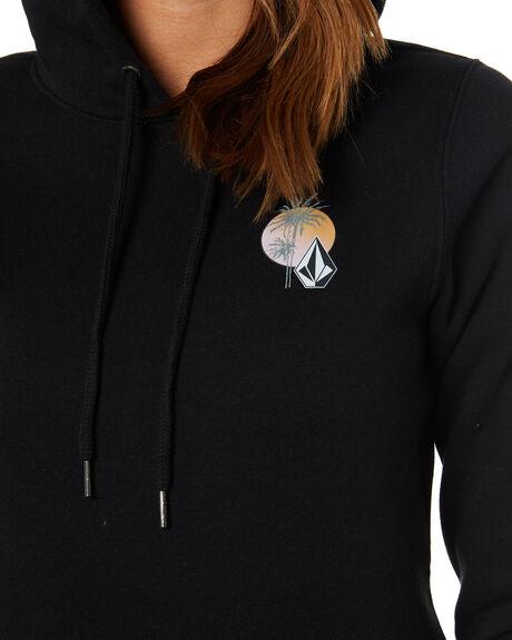 BLACK PRINT WOMENS CLOTHING VOLCOM JUMPERS - B3102005BPR