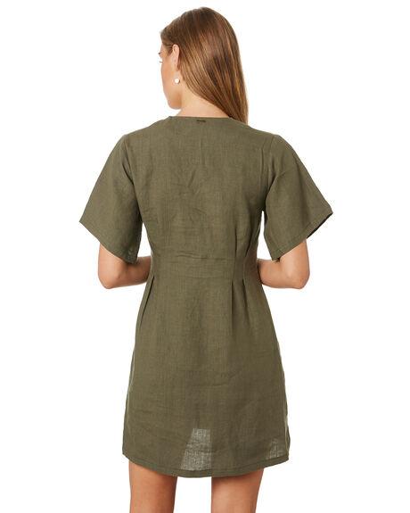 OLIVE NIGHT WOMENS CLOTHING THRILLS DRESSES - WTS9-909FOLI