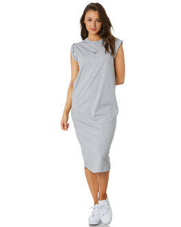 GREY MARLE WOMENS CLOTHING C&M CAMILLA AND MARC DRESSES - VCMD1608GRYM