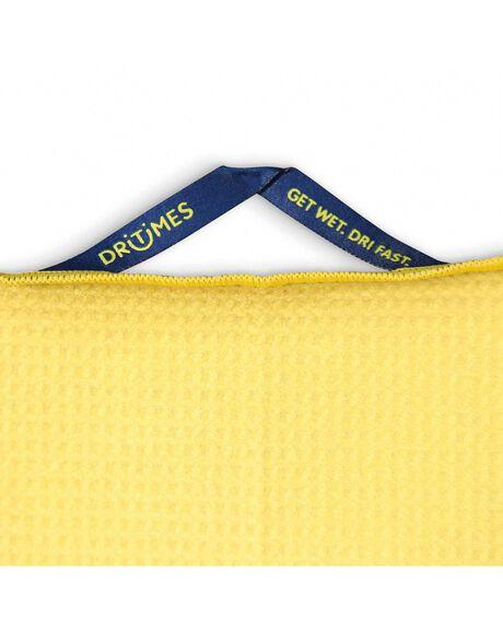 YELLOW OUTDOOR BEACH DRITIMES TOWELS - DTG006