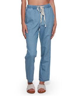 INDIGO RINSE WOMENS CLOTHING BILLABONG PANTS - BB-6507433-IGR