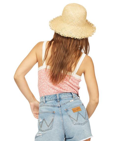 VINTAGE ROSE WOMENS CLOTHING BILLABONG SINGLETS - 6513095-VRS
