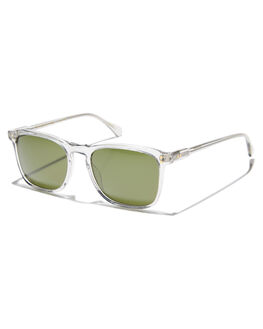 FOG CRYSTAL GREEN MENS ACCESSORIES RAEN SUNGLASSES - 100M161WLY-S110-54