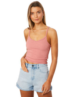 ROSE WOMENS CLOTHING ALL ABOUT EVE SINGLETS - 6405042PNK