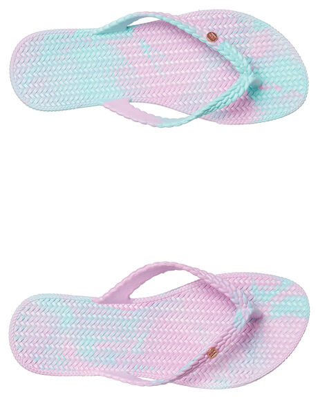 MERMAID WOMENS FOOTWEAR BILLABONG THONGS - 6671801MRMD